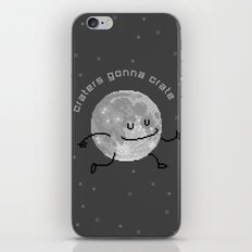 Craters Gonna Crate (8bit) iPhone & iPod Skin