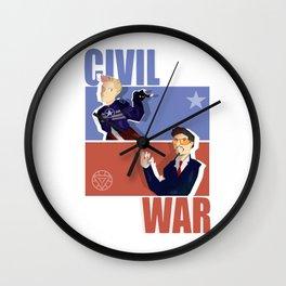 Civil War Wall Clock