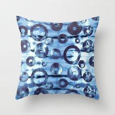 Tie-Dye Ringer Throw Pillow