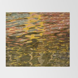 COLORFUL REFLECTION Throw Blanket