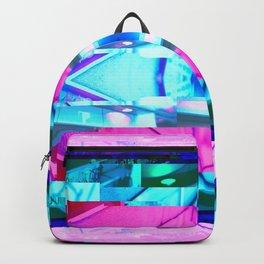 Asahikawa 2054 Glitch Cyberpunk Backpack