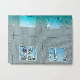 Reflections - Tokyo Dome Thunder Dolphin and Big-O Metal Print