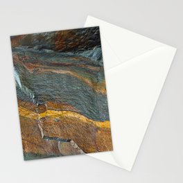 Abstract rock art Stationery Cards