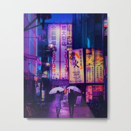 Tokyo Nights / Valentines Day / Liam Wong Metal Print
