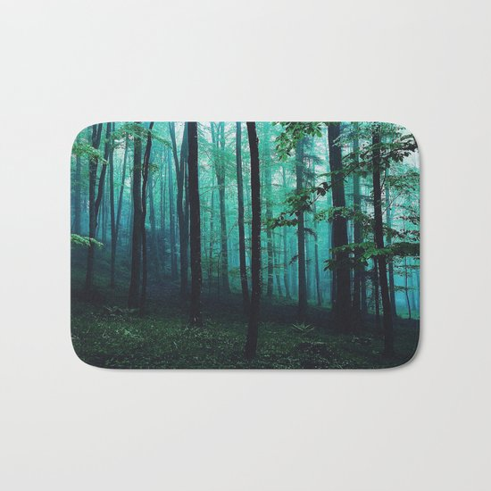 magic forest Bath Mat