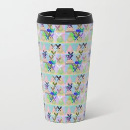 Butterfly Abstract Experiment Travel Mug