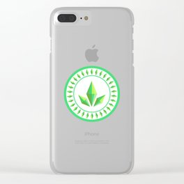 The Sims Plumbob Emblem Clear iPhone Case