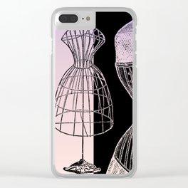 JEZEBEL-VINTAGE-1 Clear iPhone Case