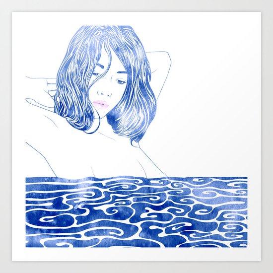 Water Nymph LXXXI Art Print