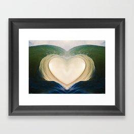 Aloha Barrel 9/6/15 Framed Art Print