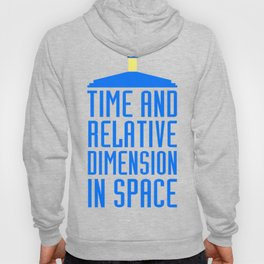 Doctor Who: The Tardis! Time and Relative Dimension in Space Hoody