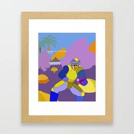 MegaCube Framed Art Print