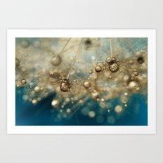 Ocean Deep Dandy Drops Art Print