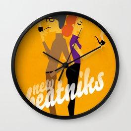 New Beatniks Wall Clock