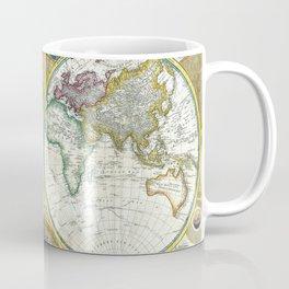 Map of the World 1794 Coffee Mug