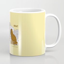 Chocolate Easter Bunny Problems Children Illustrations Coffee Mug