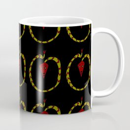 dragon and fire 2-Serpent, Reptile, draco,Mythology, Asia,Thunder,Japan,China. Coffee Mug