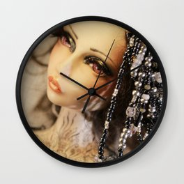 Once Upon A Doll Wall Clock