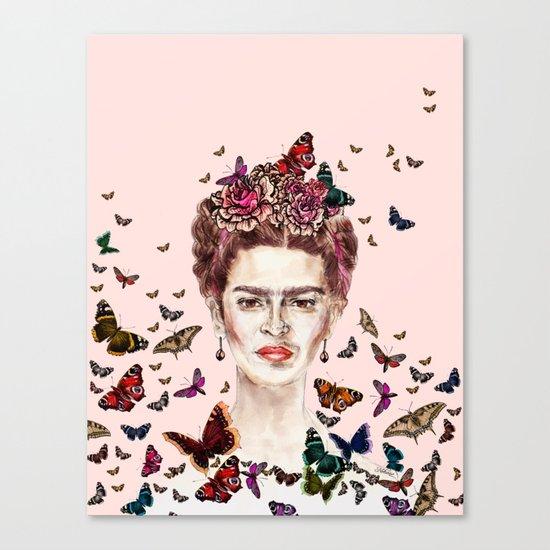 Frida Kahlo - Mexico Canvas Print