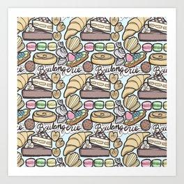 Boulangerie Art Print