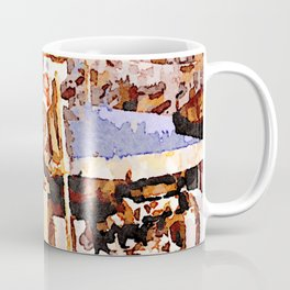 Man at work in the street of Aleppo Coffee Mug