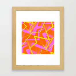 Calypso - Abstract Framed Art Print