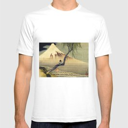 Katsushika Hokusai Boy Viewing Mount Fuji T-shirt