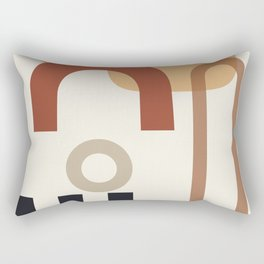 // Shape study #23 Rectangular Pillow