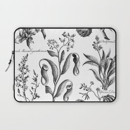 Antique Nepenthes and Drosera Print from 1757 Laptop Sleeve
