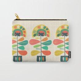 Fan Flower Carry-All Pouch