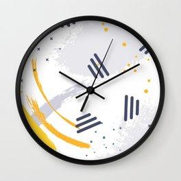 Melon splash Wall Clock