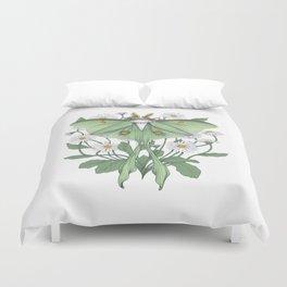 Metamorphosis - Luna Moth Duvet Cover