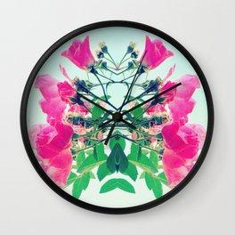 Como La Flor. Wall Clock