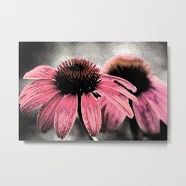Flower Sisters Metal Print