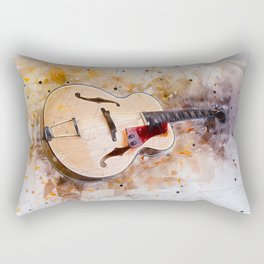 Electric Guitar Art Rectangular Pillow