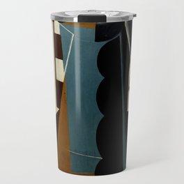 """Juan Gris """"Nature Morte sur une Chaise ( Still Life on a Chair)"""" Travel Mug"""