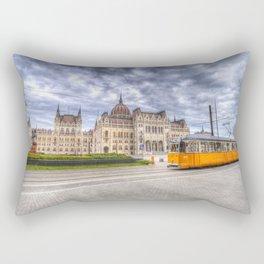 Parliament Of Budapest Rectangular Pillow