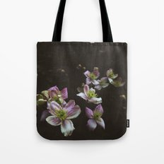 A trail of flowers Tote Bag