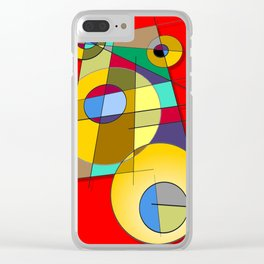 Abstract #51 Clear iPhone Case