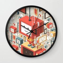 Multi Identity Wall Clock