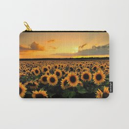 Sunflower field Carry-All Pouch