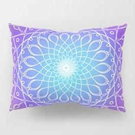 Follow the Light Mandala Pillow Sham