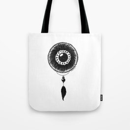 Eye Flock Tote Bag