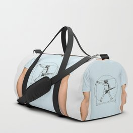 Guitar Man and Da Vinci Duffle Bag
