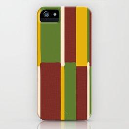 Irie Stripes iPhone Case