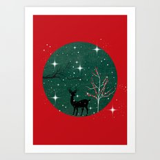 Have a wonderful Christmas - Holidaze Art Print