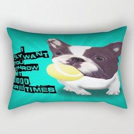 Throw it Again!! Rectangular Pillow