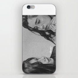 Camren Pencil Sketch  iPhone Skin
