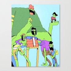 Gangreen Gang Canvas Print