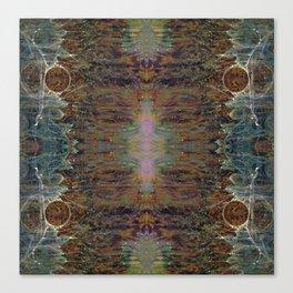 Nebulous Portal Emergence (Electric Gateway) (Reflected) Canvas Print